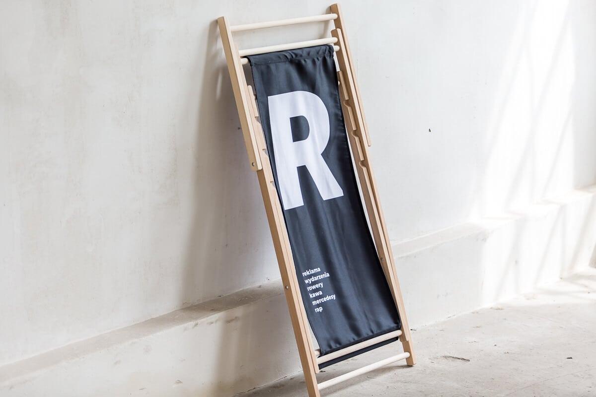 czerny leżak składany logo R reprezentuj sklep online