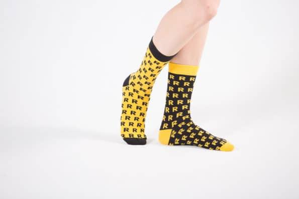 żółte czarne skarpetki reprezentuj sklep