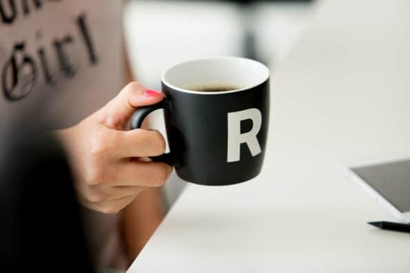 kubek do kawy R